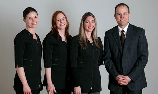 Équipe d'audioprothésistes
